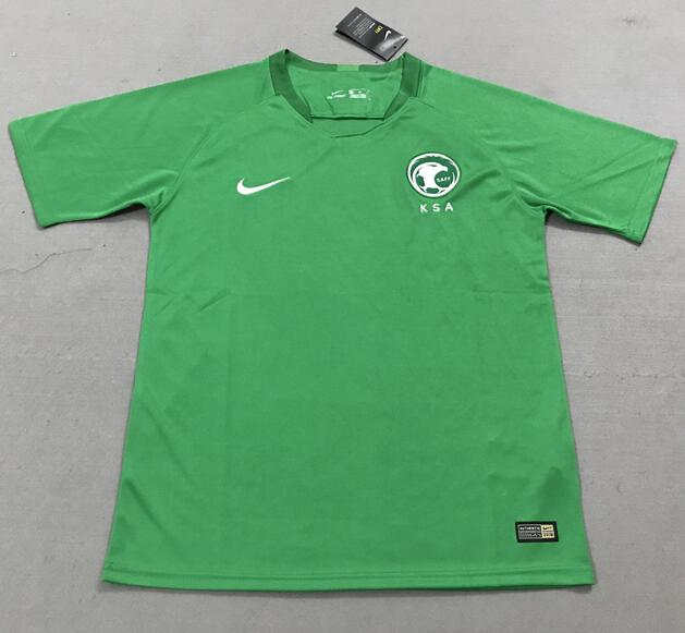 b538215ecba Saudi Arabia 2018 World Cup Away Soccer Jerseys Shirt