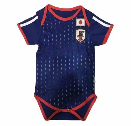 Japan 2018 World Cup Home Infant Shirt Soccer Jersey Baby Suit