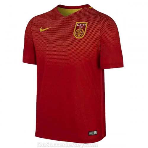 China 2016/17 Home Shirt Soccer Jersey