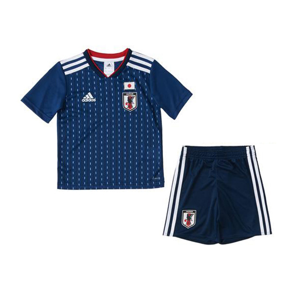 Japan 2018 FIFA World Cup Home Kids Soccer Kit Children Shirt And Shorts
