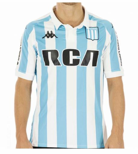 Racing Club 2018/19 Home Shirt Soccer Jersey