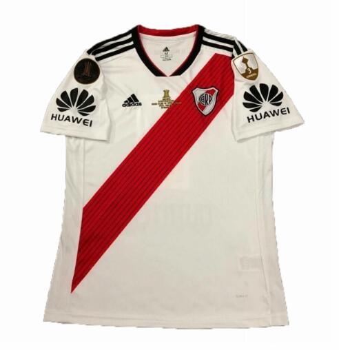 River Plate 2018 19 Home Copa Libertadores Final Soccer Jerseys Shirt 62a0dad3c