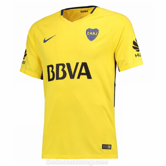 Boca Juniors 2017/18 Away Shirt Soccer Jersey