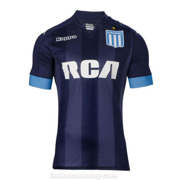 Racing Club 2017/18 Away Shirt Soccer Jersey