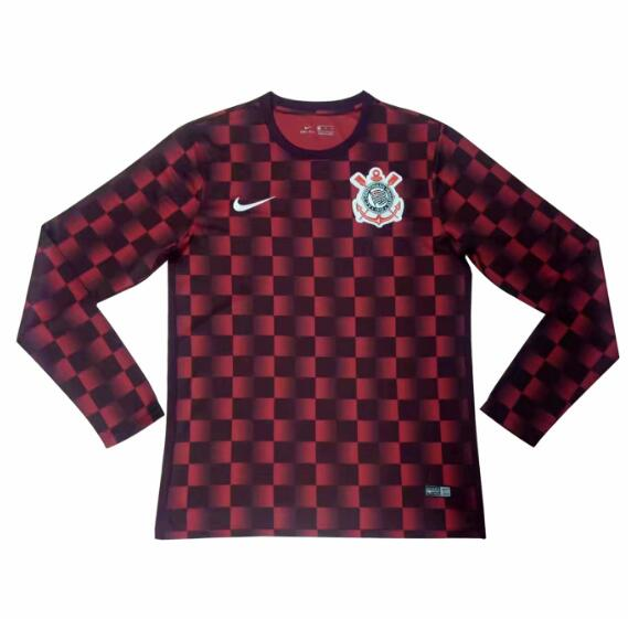 Corinthians 2018/19 Red Long Sleeve Training Shirt