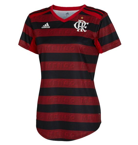 CR Flamengo 2019/2020 Home Women's Shirt Soccer Jersey