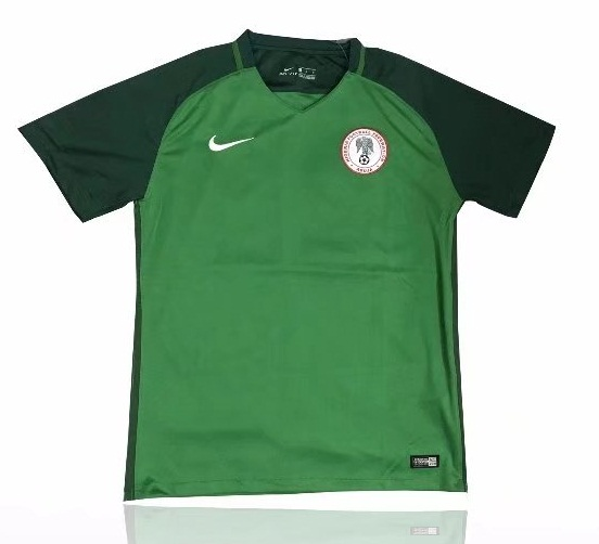Nigeria Fifa World Cup 2018 Green Training Shirt