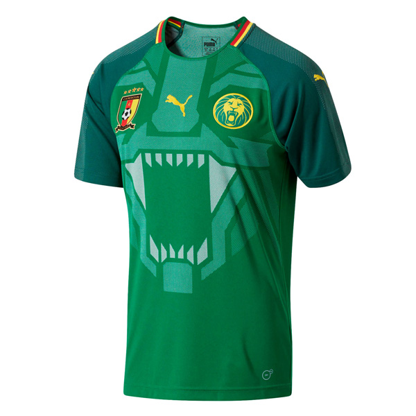 Cameroon 2018 World Cup Home Shirt Soccer Jersey