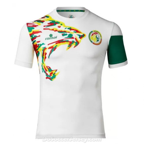 Senegal 2017/18 Away Shirt Soccer Jersey
