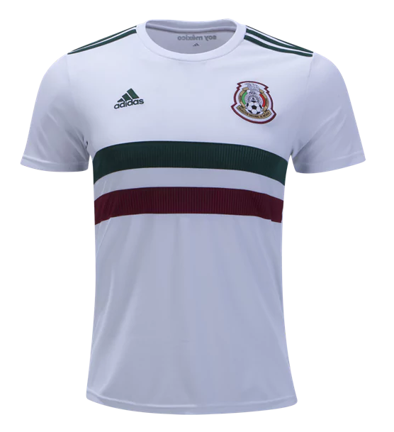 Mexico 2018 World Cup Away Shirt Soccer Jersey