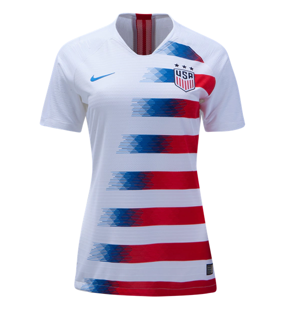USA 2018 World Cup Home Women's Shirt Soccer Jersey