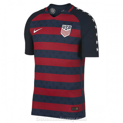USA 2017/18 Gold Cup Shirt Soccer Jersey