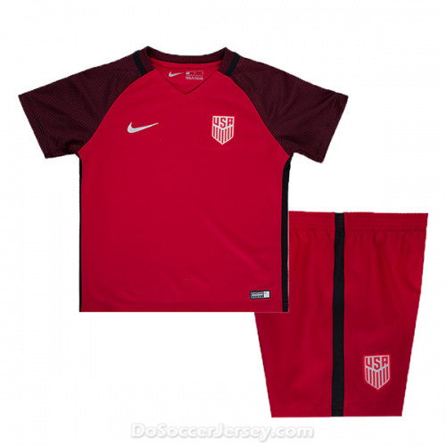 USA 2017/18 Third Kids Soccer Kit Children Shirt And Shorts