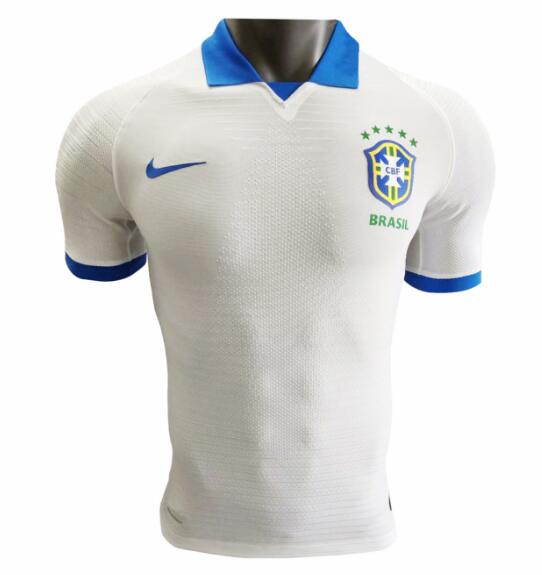 Player Version Brazil Copa America 2019 Away Shirt Soccer Jersey