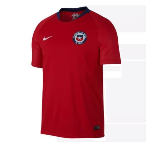 Chile 2018 World Cup Home Shirt Soccer Jersey