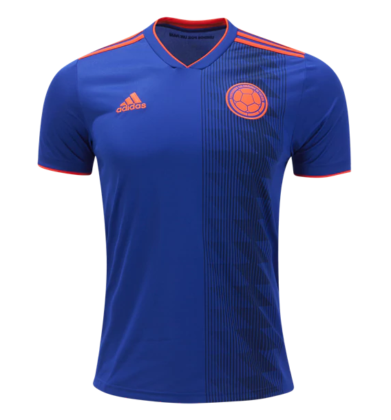Colombia 2018 World Cup Away Shirt Soccer Jersey