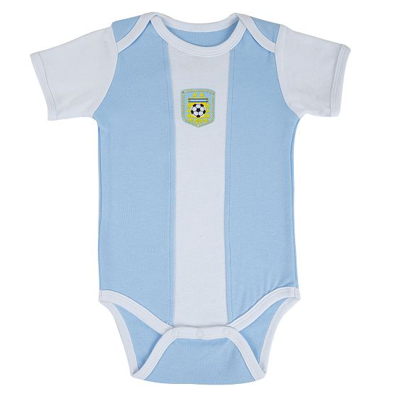 Argentina 2018 World Cup Home Infant Shirt Soccer Baby Suit Rompers Outfits