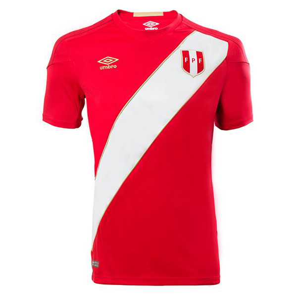 Peru 2018 FIFA World Cup Away Shirt Soccer Jersey
