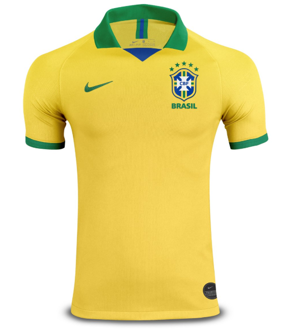 Player Version Brazil Copa America 2019 Home Shirt Soccer Jersey