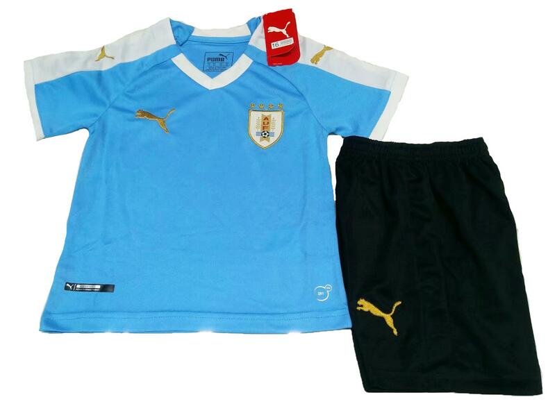 776ad92f50e Uruguay 2019 Copa America Home Soccer Jersey Kits (Shirt + Shorts)