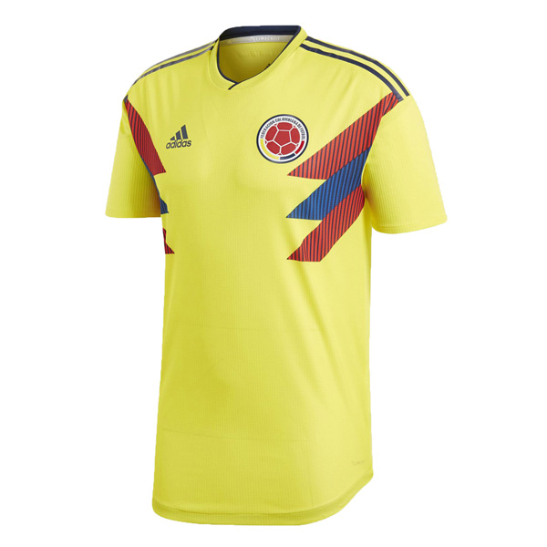 Colombia 2018 World Cup Home Shirt Soccer Jersey