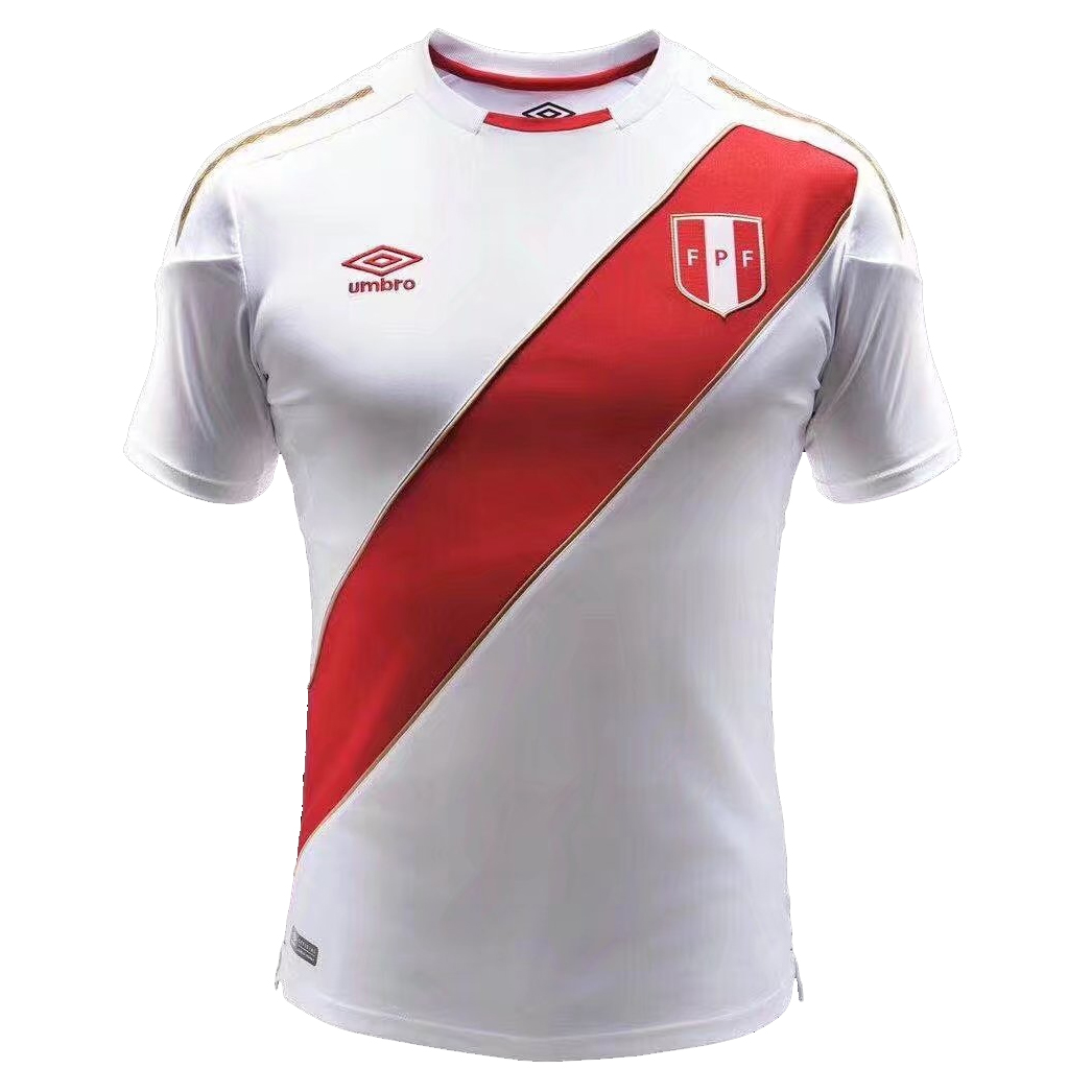 Peru 2018 World Cup Home Shirt Soccer Jersey