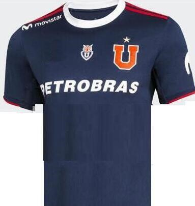 Club Universidad de Chile 2019/2020 Home Shirt Soccer Jersey