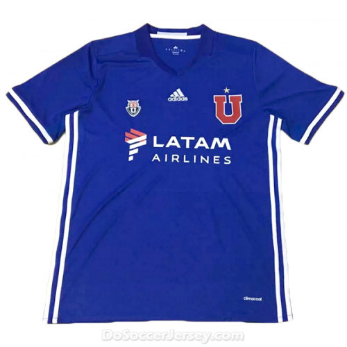 Club Universidad de Chile 2016/17 Home Shirt Soccer Jersey