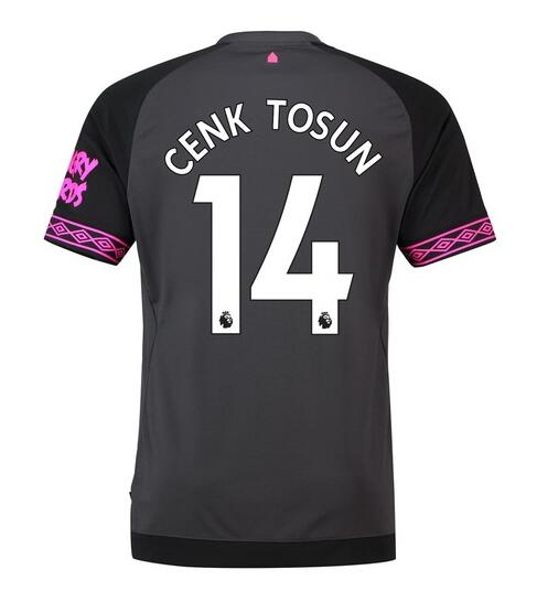 Everton 2018/19 Cenk Tosun 14 Away Shirt Soccer Jersey