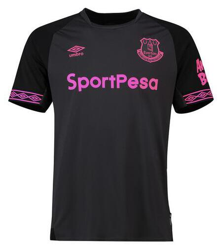Everton 2018/19 Away Shirt Soccer Jersey