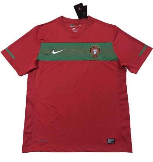 Portugal 2010 World Cup Home Retro Shirt Soccer Jersey