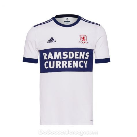 Middlesbrough 2017/18 Away Shirt Soccer Jersey