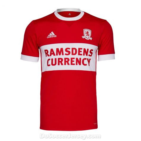 Middlesbrough 2017/18 Home Shirt Soccer Jersey