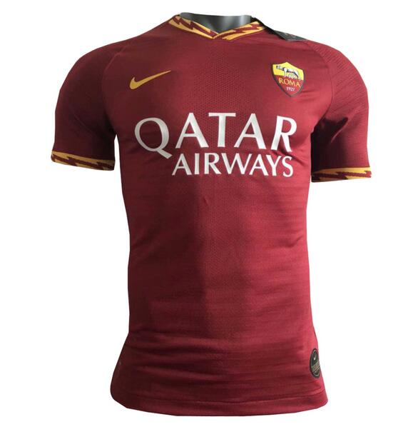 AS Roma 2019/2020 Home Shirt Soccer Jersey Match Version