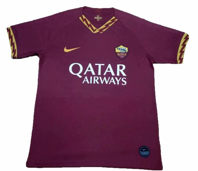 AS Roma 2019/2020 Home Shirt Soccer Jersey