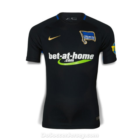 Hertha BSC 2017/18 Away Shirt Soccer Jersey