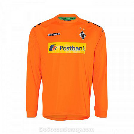 Borussia Monchengladbach 2017/18 orange Long Sleeved Goalkeeper Shirt