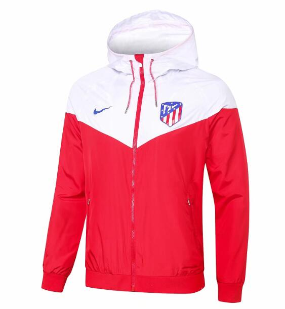 Atletico Madrid 2018/19 Red Woven Windrunner Jacket