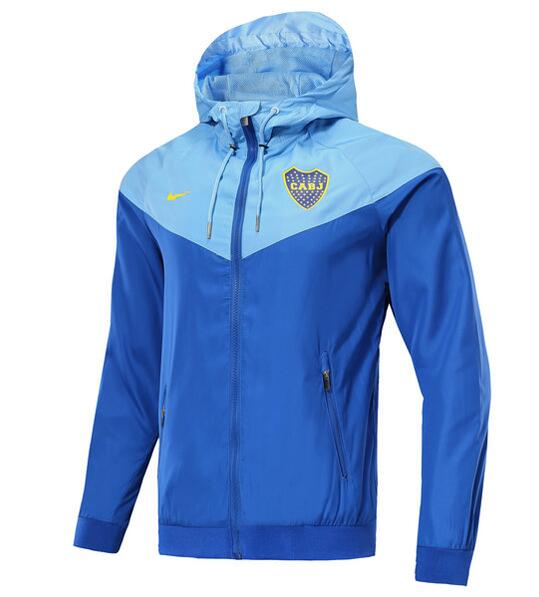 Boca Juniors 2018/19 Blue Woven Windrunner Jacket