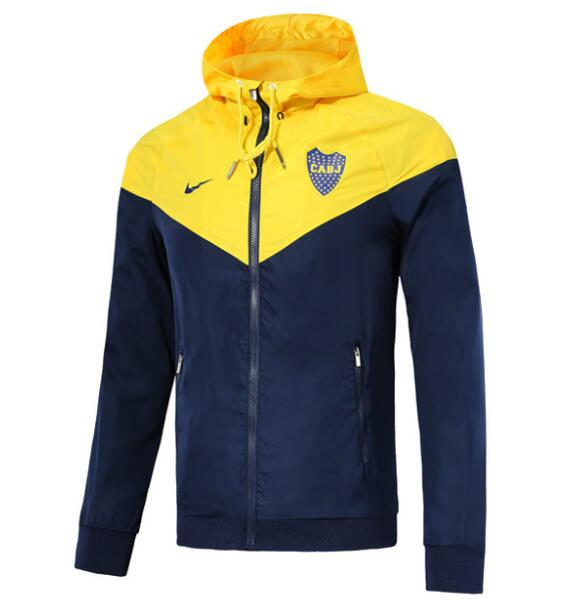 Boca Juniors 2018/19 Yellow Woven Windrunner Jacket