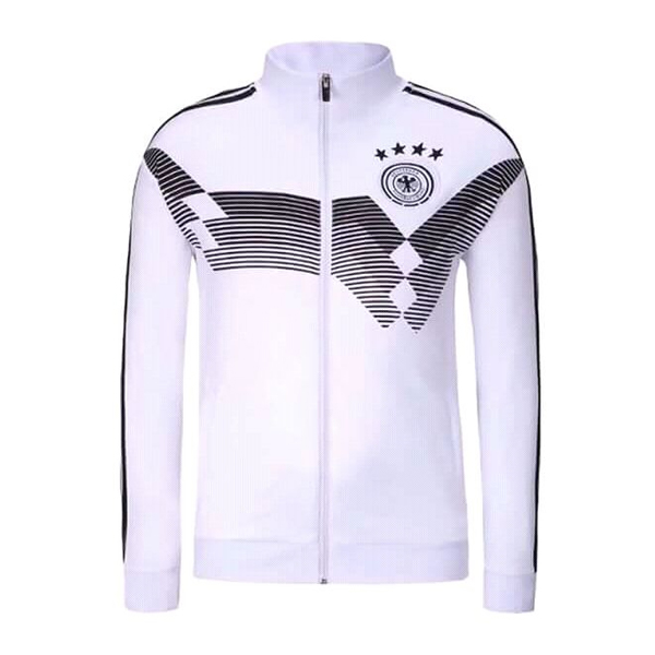 Germany 2018 Black and White Jacket High Neck