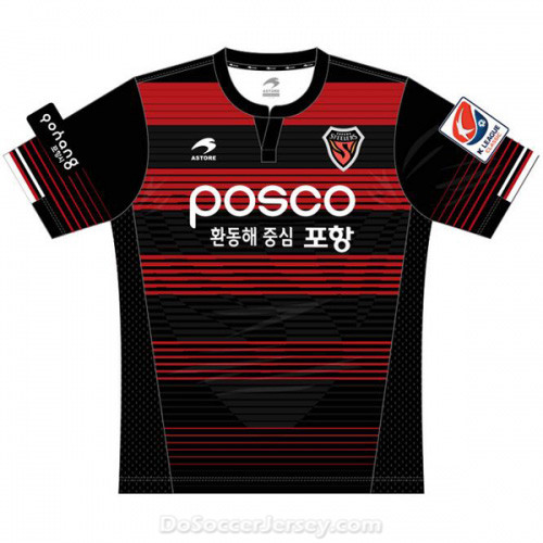 Pohang Steelers 2017/18 Home Shirt Soccer Jersey