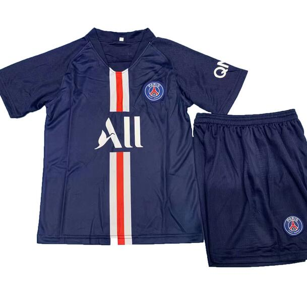 Concept Version PSG 2018/19 Home Kids Soccer Jersey Kit Children Shirt + Shorts
