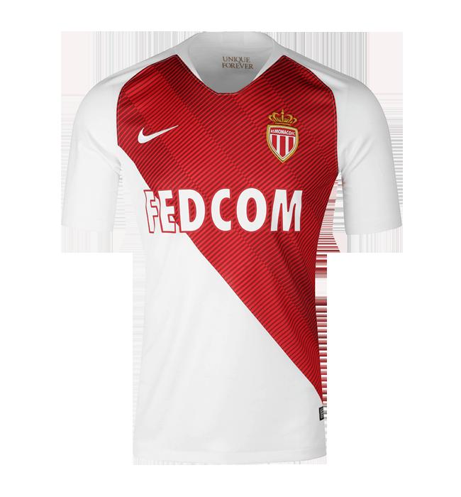 AS Monaco 2018 19 Home Soccer Jerseys Shirt 6a739c4da