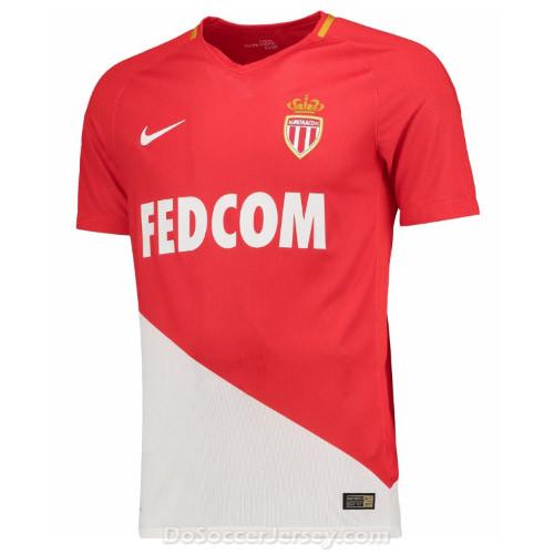 897d8d44c AS Monaco 2017 18 Home Shirt Soccer Jersey