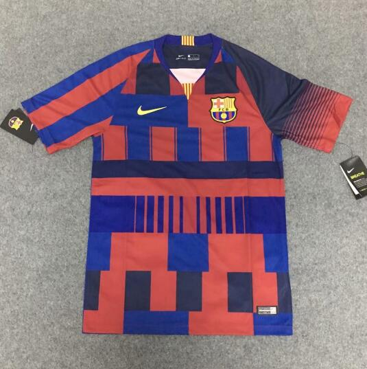 Barcelona 20 Years 2018/19 Mashup Special Edition Shirt