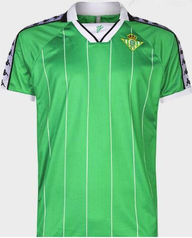 Real Betis 2018/19 Green Retro Shirt Soccer Jersey