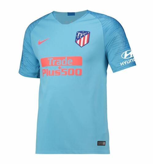 Atletico Madrid 2018/19 Away Shirt Soccer Jersey