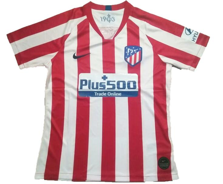 Atletico Madrid 2019/2020 Home Shirt Soccer Jersey