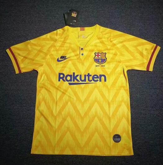 Barcelona 2019/20 120-Years Anniversary Away Shirt Soccer Jersey